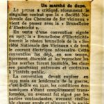 La Libre Belgique 05/07/1929