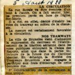 Le Soir 05/08/1929