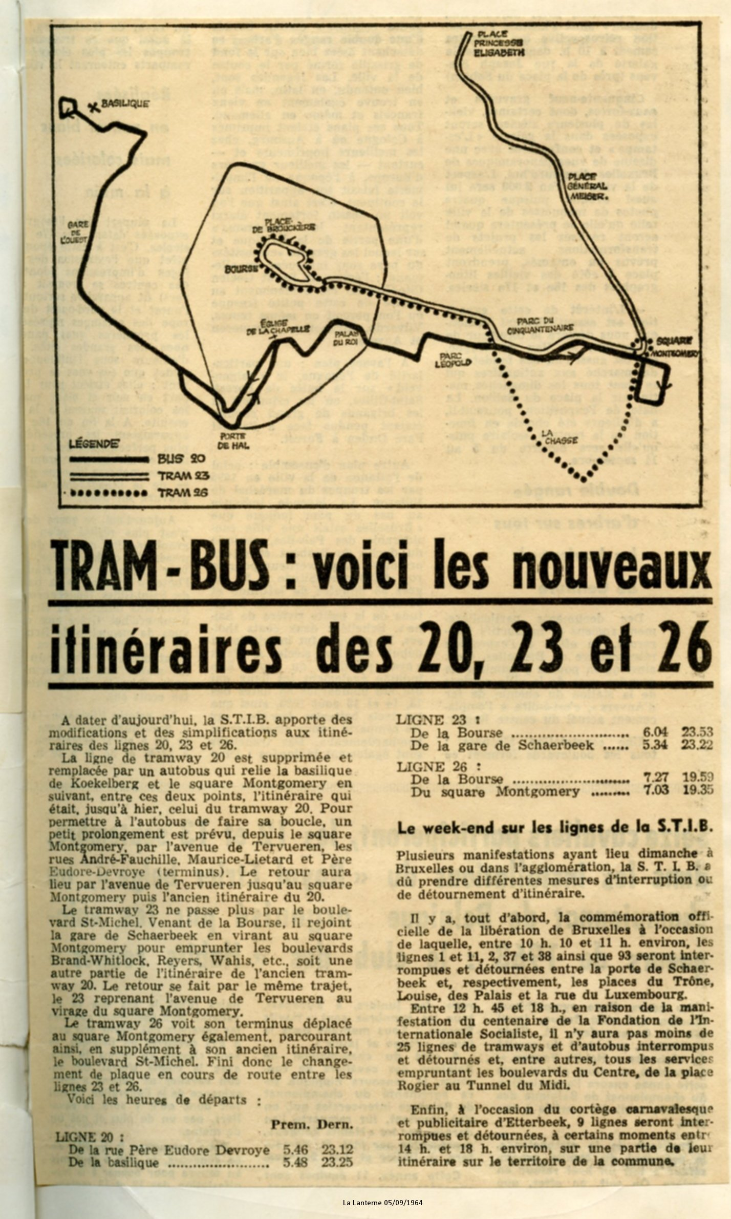 La Lanterne 05/09/1964